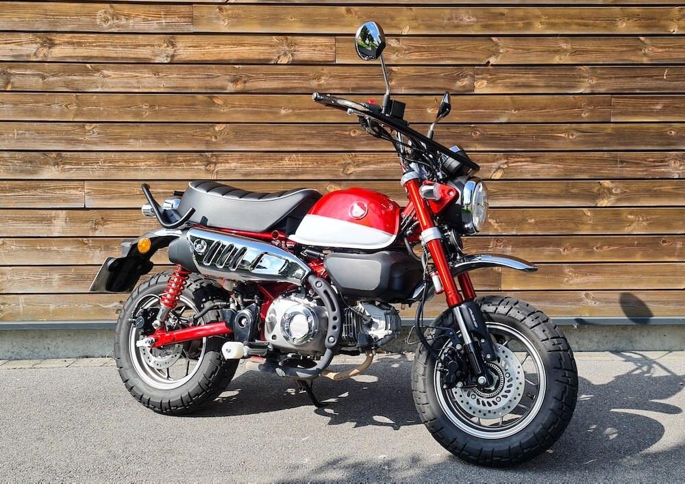 location moto Valenciennes Honda Monkey 125cc 15964