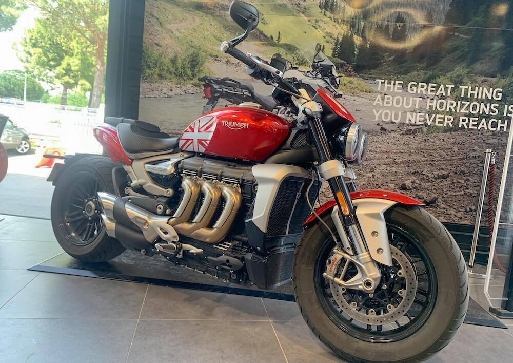 Location moto Montpellier Triumph Scrambler 1200 XC 1