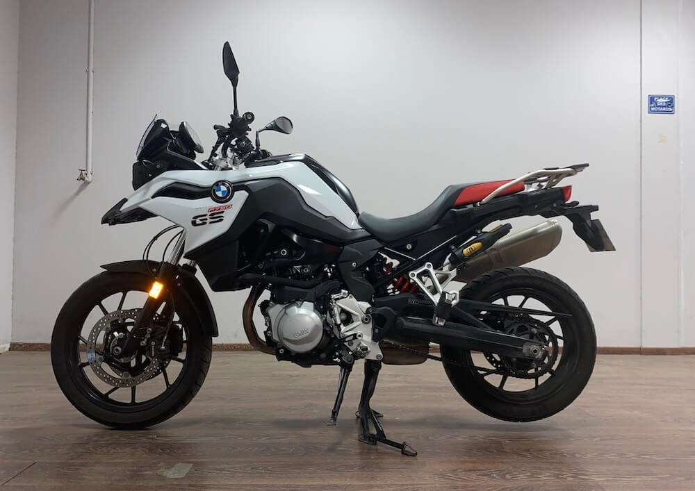 location moto Marseille BMW F750 GS 8765