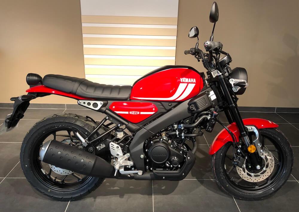 location moto Manosque Yamaha MT 125 9966