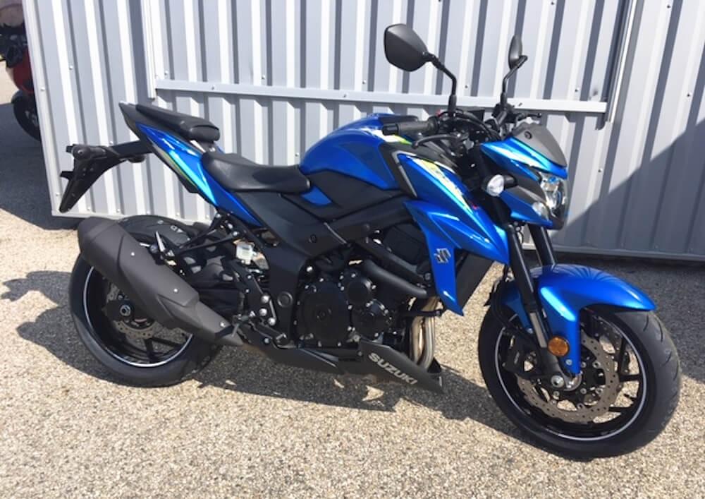 location moto Montélimar Suzuki GSX-S 750 A2 8663