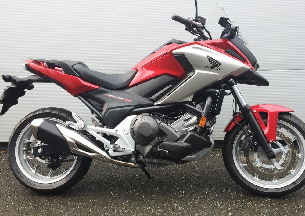 location moto Ajaccio Corse Honda NC 750 X 1
