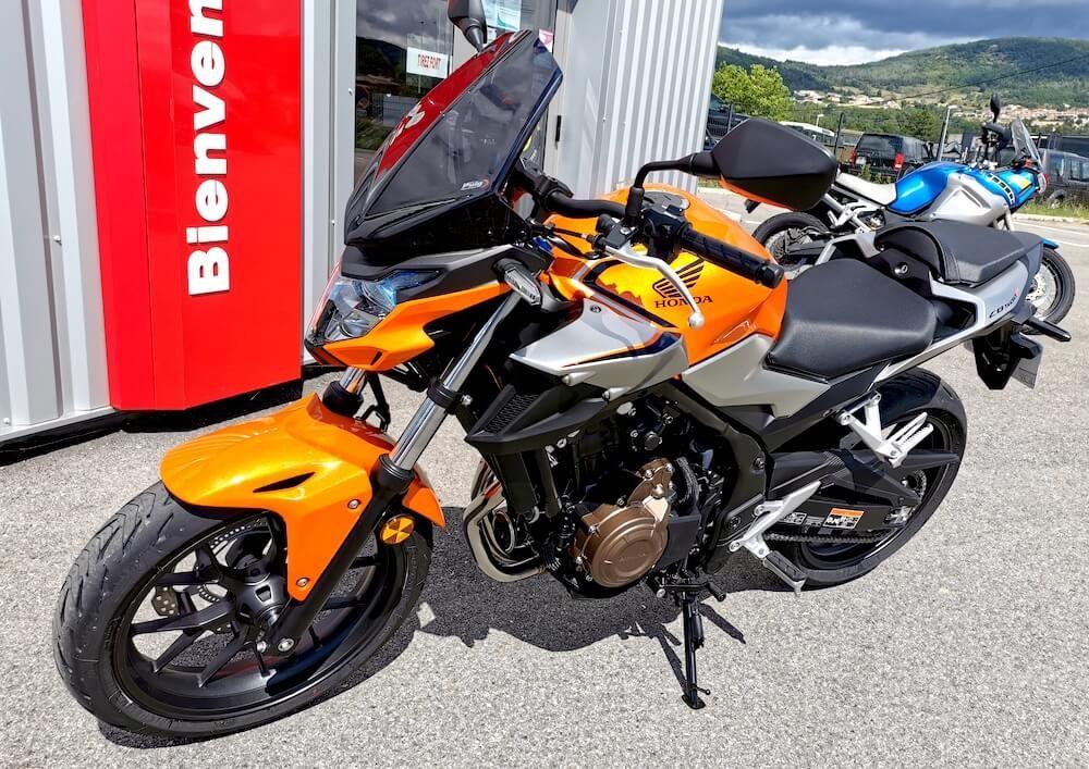 location moto Annonay Honda CB 500 F 10271