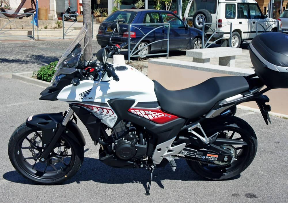 location moto Calvi Corse Honda CB 500 X