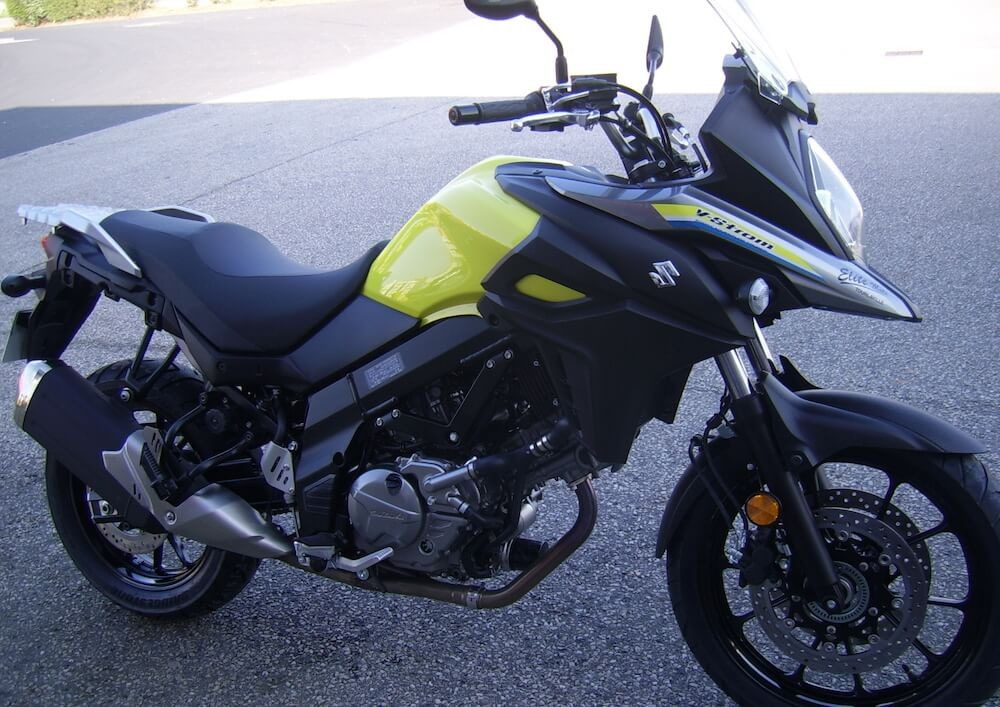 location moto Cherbourg Suzuki V-Strom DL 650 4
