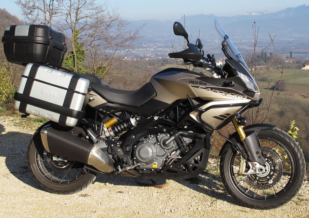 location moto Tullins Grenoble Aprilia Rally Caponord 1200