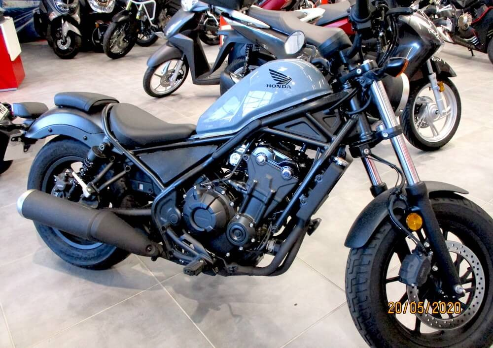 Location moto Montpellier Honda CMX Rebel 500 1