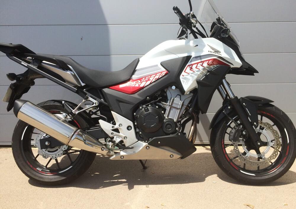 location moto saint malo Honda CB 500 X 2