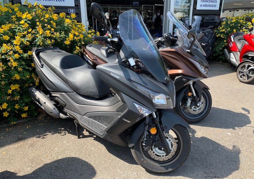 location scooter rouen Kymco 125 X-Town 1