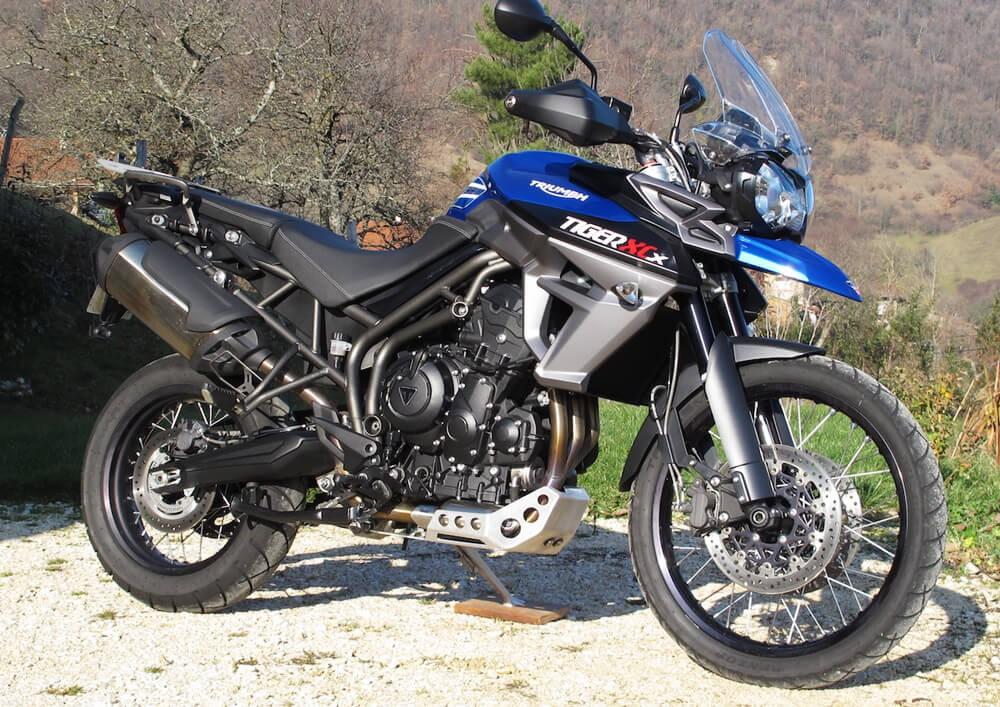 location moto Tullins Grenoble Triumph Tiger 800 XCX 2