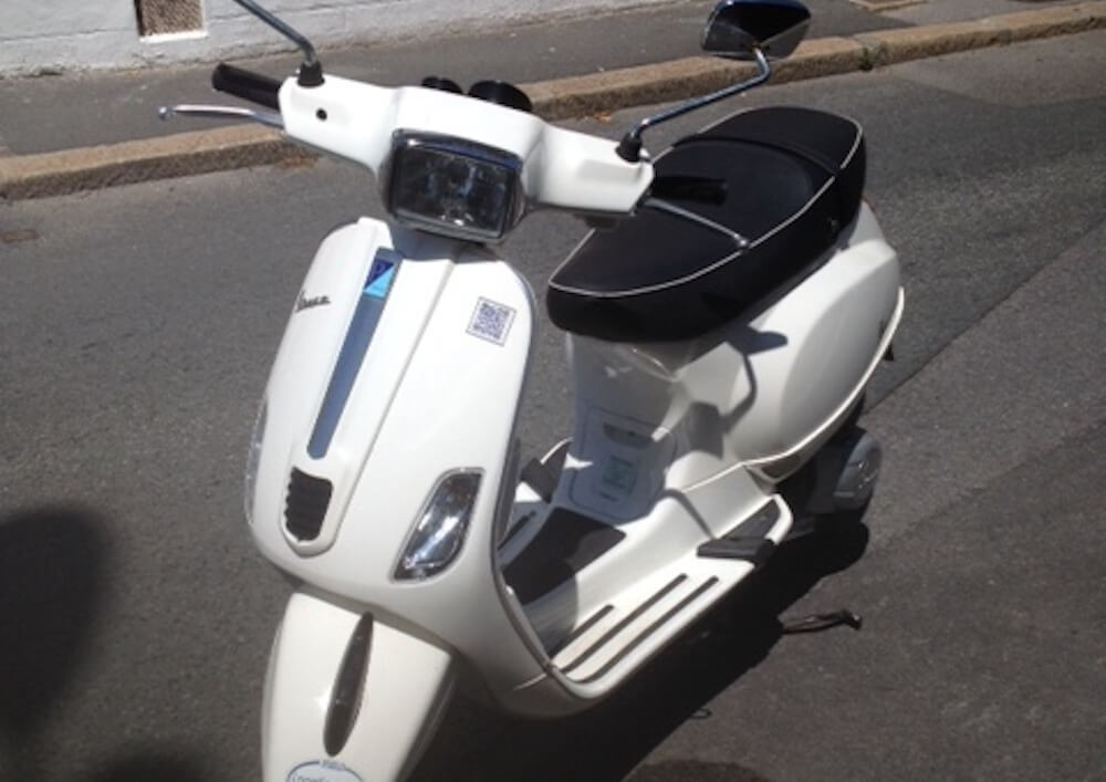 Location Scooter Biarritz Vespa 125cc 1