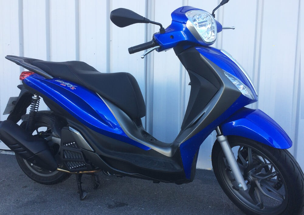 Location scooter Narbonne PIAGGIO 125 Medley ABS 1