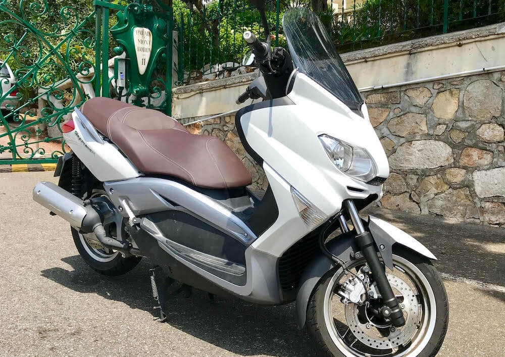 location scooter Nice MBK 125 Skyliner 1