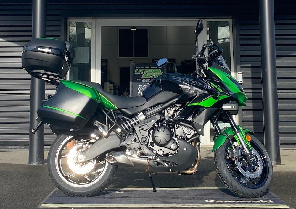 location moto Aizenay Kawasaki Versys 650 A2 13226