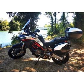 location moto Ducati Multistrada 950 S Blanche