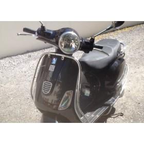 location moto Piaggio 125 Vespa Noir