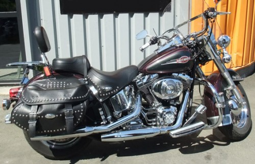 Location Harley Davidson Softail Angers 1