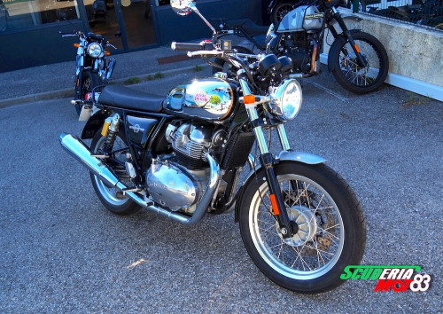 location moto Cuers Royal Enfield Interceptor 650 13914