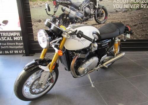 Location moto Montpellier Triumph Thruxton 1200 R 4