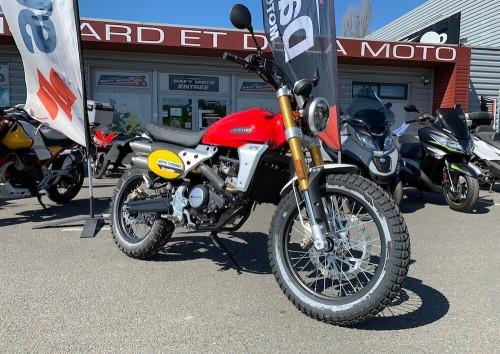 location moto angouleme Fantic 125 Scrambler 1