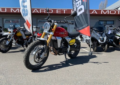 location moto angouleme Fantic 500 Scrambler 4