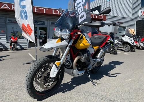 location moto angouleme Guzzi V85 TT 1