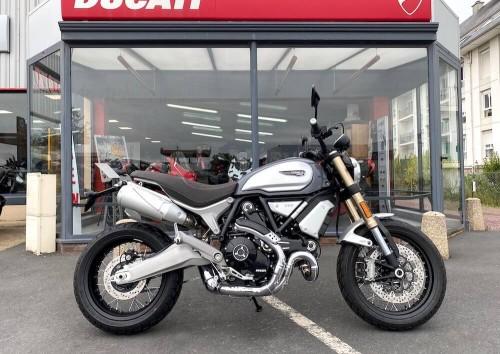Location moto Carentan Ducati 1100 Scrambler 1