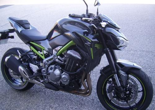 location moto Cherbourg Kawasaski Z900 1
