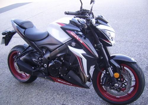 location moto Cherbourg Suzuki GSX-S 1000 5