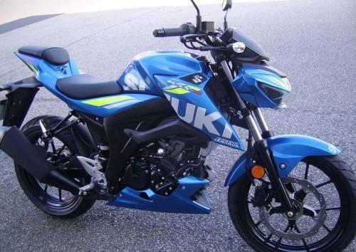 location moto Cherbourg Suzuki GSX S 125 2