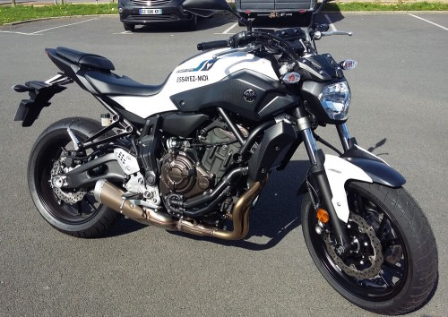 Location Moto Granville Yamaha MT07 A2
