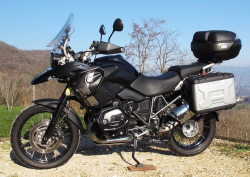 location moto Tullins Grenoble tBMW R 1200 GS Triple Black 1
