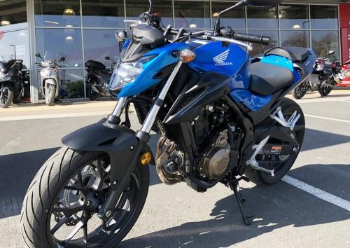 location moto saint malo Honda CB 500 F 1