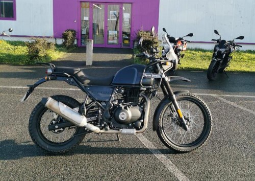 Location moto La Rochelle Royal Enfield bullet 1