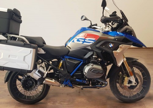Location moto Marseille BMW R1200 GS 4