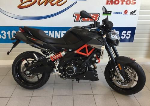 Location moto Mayenne Aprilia Shiver 900 2