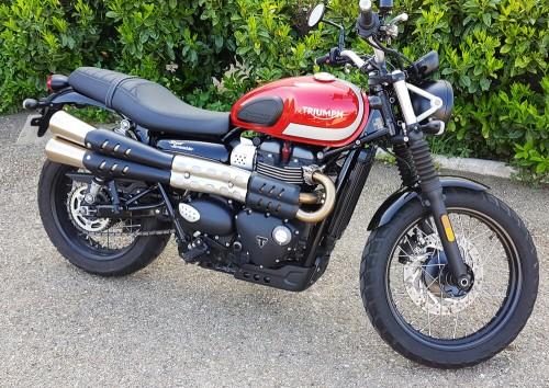 Location moto Nîmes Triumph scrambler 900