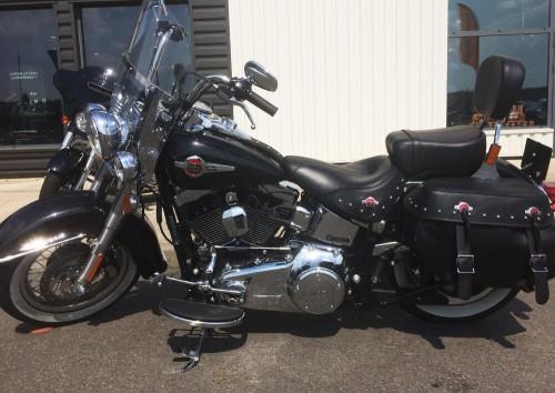 location moto poitiers Harley Davidson heritage softail 1
