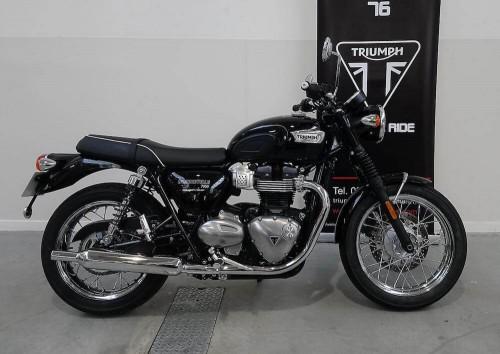 Location moto Rouen Triumph Bonneville T100