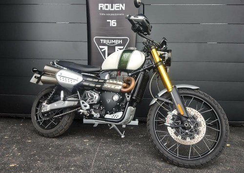Location moto Rouen Triumph Scrambler 1200 XE