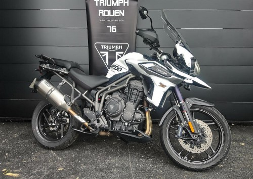 Location moto Rouen Triumph 1200 tiger XRT