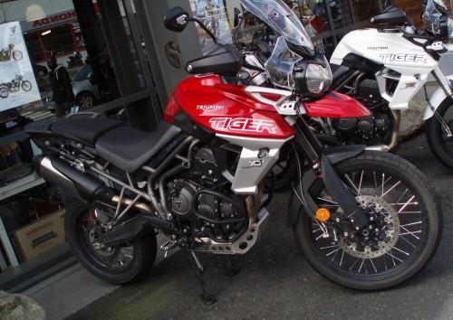 Location moto Rouen Triumph 800 tiger XCA 4