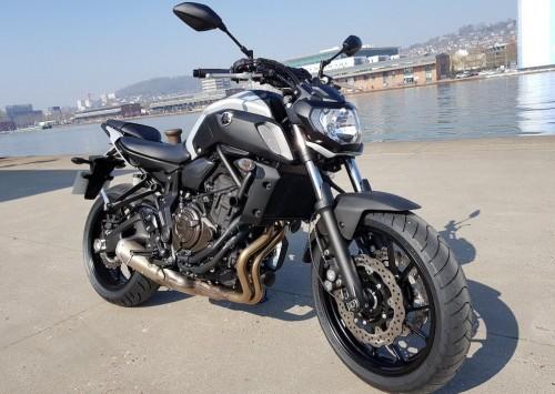 Location moto rouen yamaha mt07 2