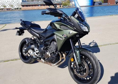 rouen yamaha mt09 tracer location moto