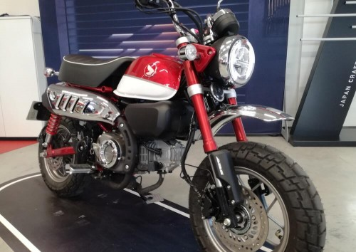 location moto Annonay Honda 125 monkey 2