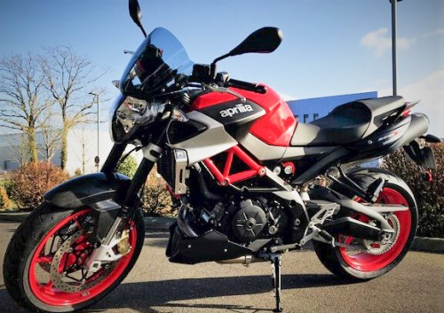 Location moto savenay Aprilia Shiver 900 1