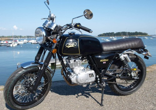 Location moto Vannes Mash 125 4