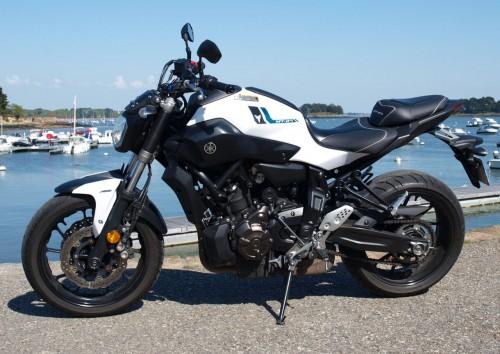 Location moto Vannes Yamaha MT07 ABS A2 1