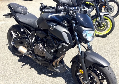 Location moto Vannes Yamaha MT07 ABS A2 4