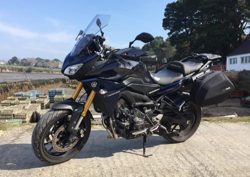 location moto vannes Yamaha MT09 Tracer 1